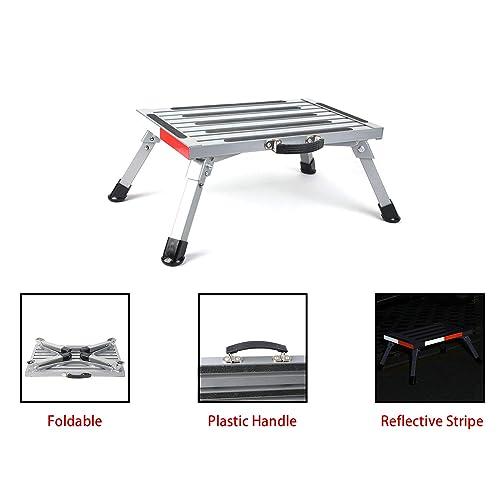 Superb Buy Pr1Me 19 X 12 Rv Folding Step Step Stool 440Lbs Inzonedesignstudio Interior Chair Design Inzonedesignstudiocom