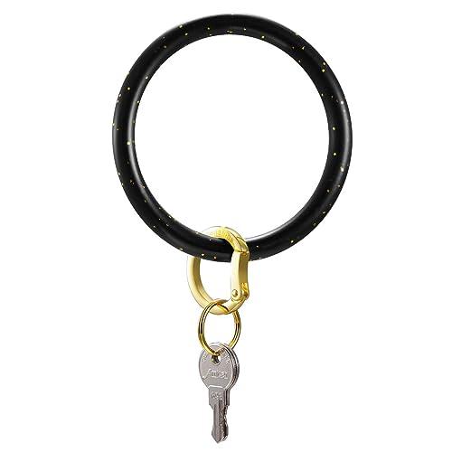 8f52c5873805e Townshine Silicone Bangle Key Ring Wrist Keychain Bracelet Round Key Rings