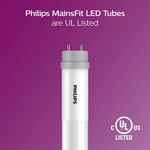 Buy Philips LED 542506 MainsFit Ballast Bypass 4-Foot T8 Tube Glass