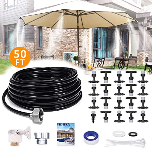 Buy REDTRON 50FT Mist Cooling System, Patio Misting System