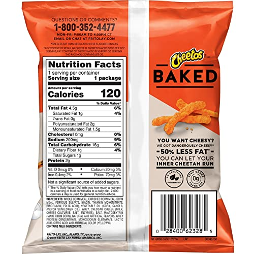 Buy Frito-Lay Baked & Popped Mix Variety Pack, 40Count with